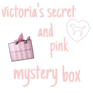 victoria's secret and pink mystery box